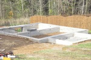 Фундамент для дачного дома