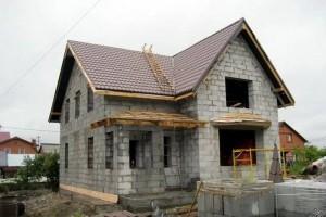 Построить дом из пеноблока