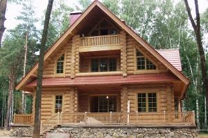 Строительство дома из сруба